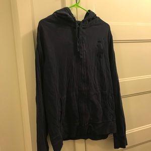 Polo Zip Up Sweatshirt